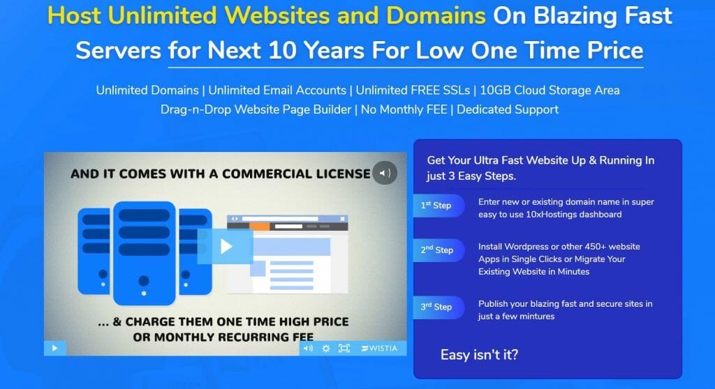 10XHostings Commercial Coupon Code 2020 > 84% Off Promo Deal