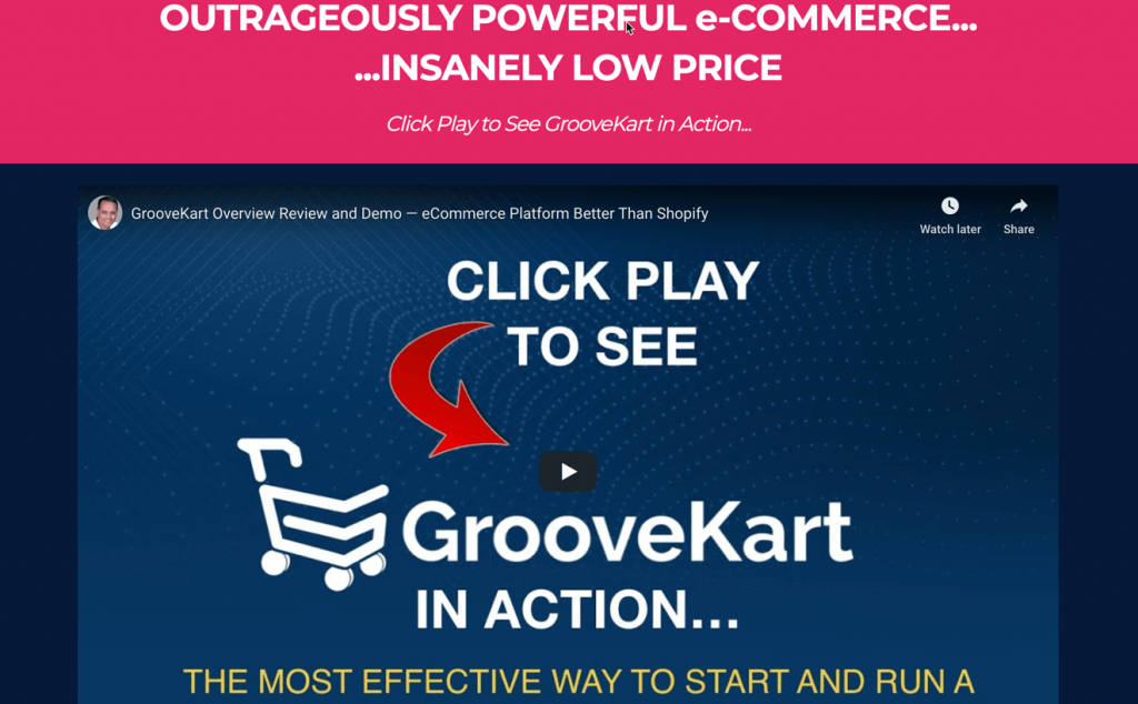 GrooveKart Coupon Code > 50% Off Promo Deal