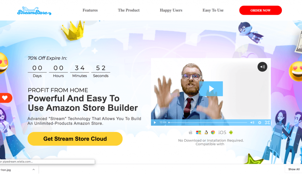 Stream Store Cloud Coupon Code > 75% Off Promo Deal