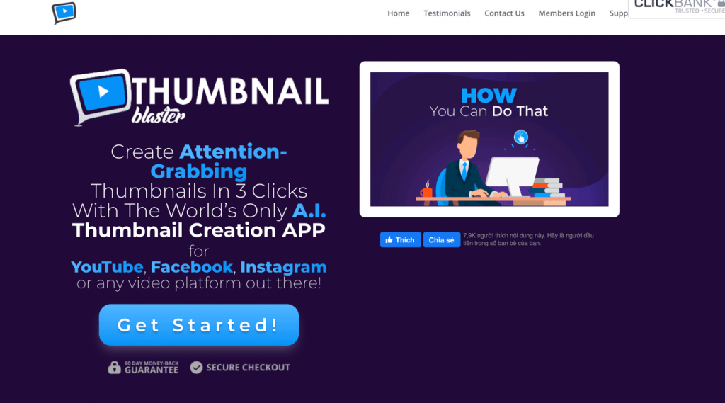Thumbnail Blaster > 80% OFF Discount