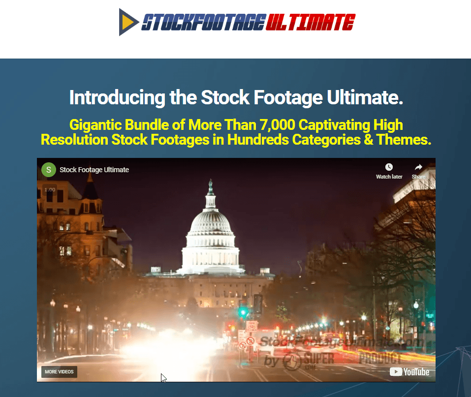 Stock Footage Ultimate Coupon Code > 50% Off (Verified) Promo Deal